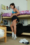 Emma Kate Gets Naked From Cute Gym Kit - Picture 3