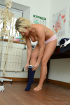 Amy Slowly Slips Off Her Cute Gym Clothes Leaving Her Completely Nude - Picture 11