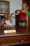 Candice And Natalia Pulling Their Clothes Off Themselves And Each Other - Picture 3