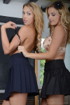 Lainey And Amy Pulling Their Clothes Off Themselves And Each Other - Picture 6