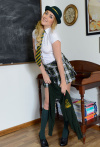 Lucy Anne Getting Naked In The Classroom - Picture 4