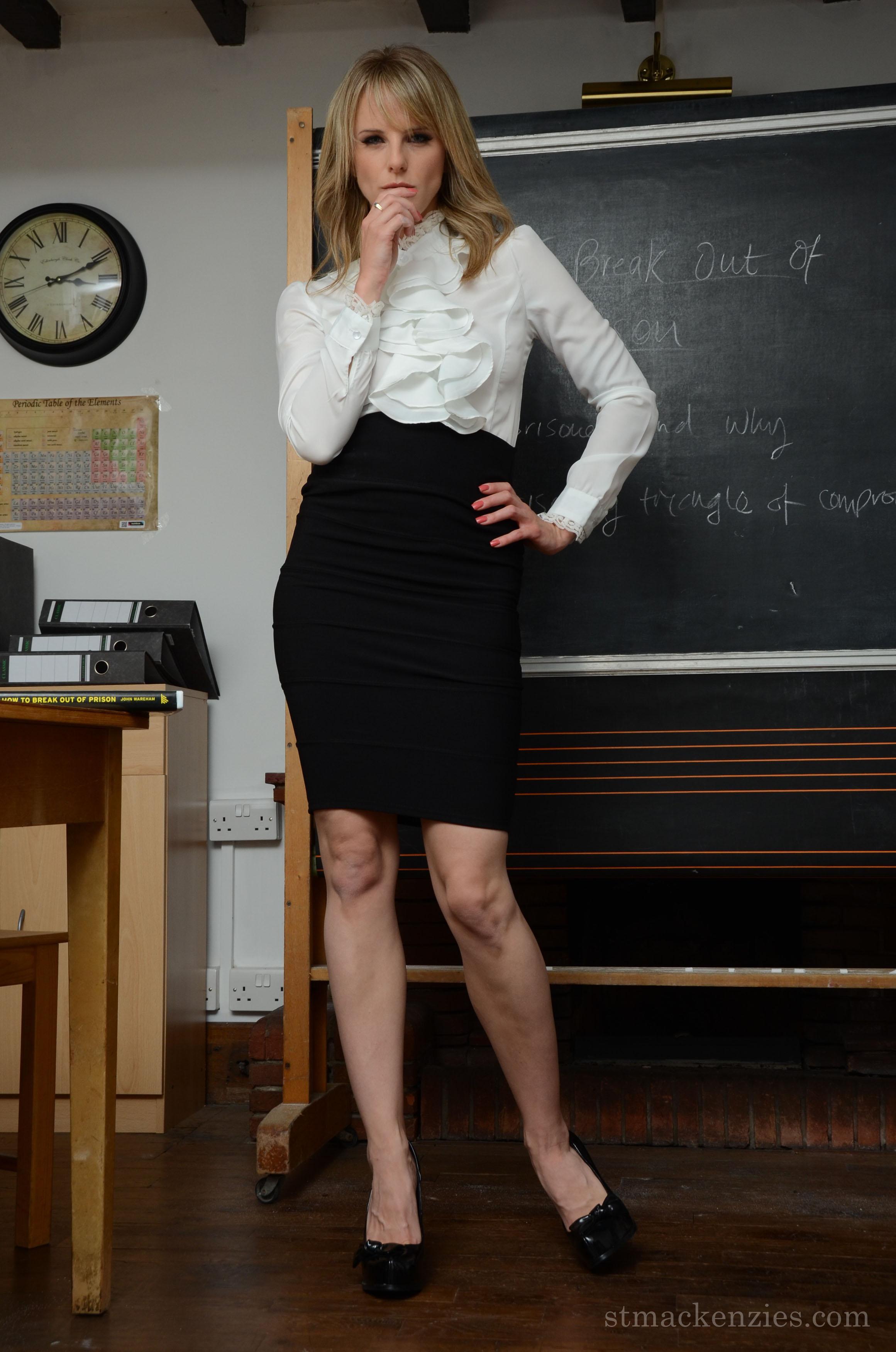 strict pantyhose headmistress