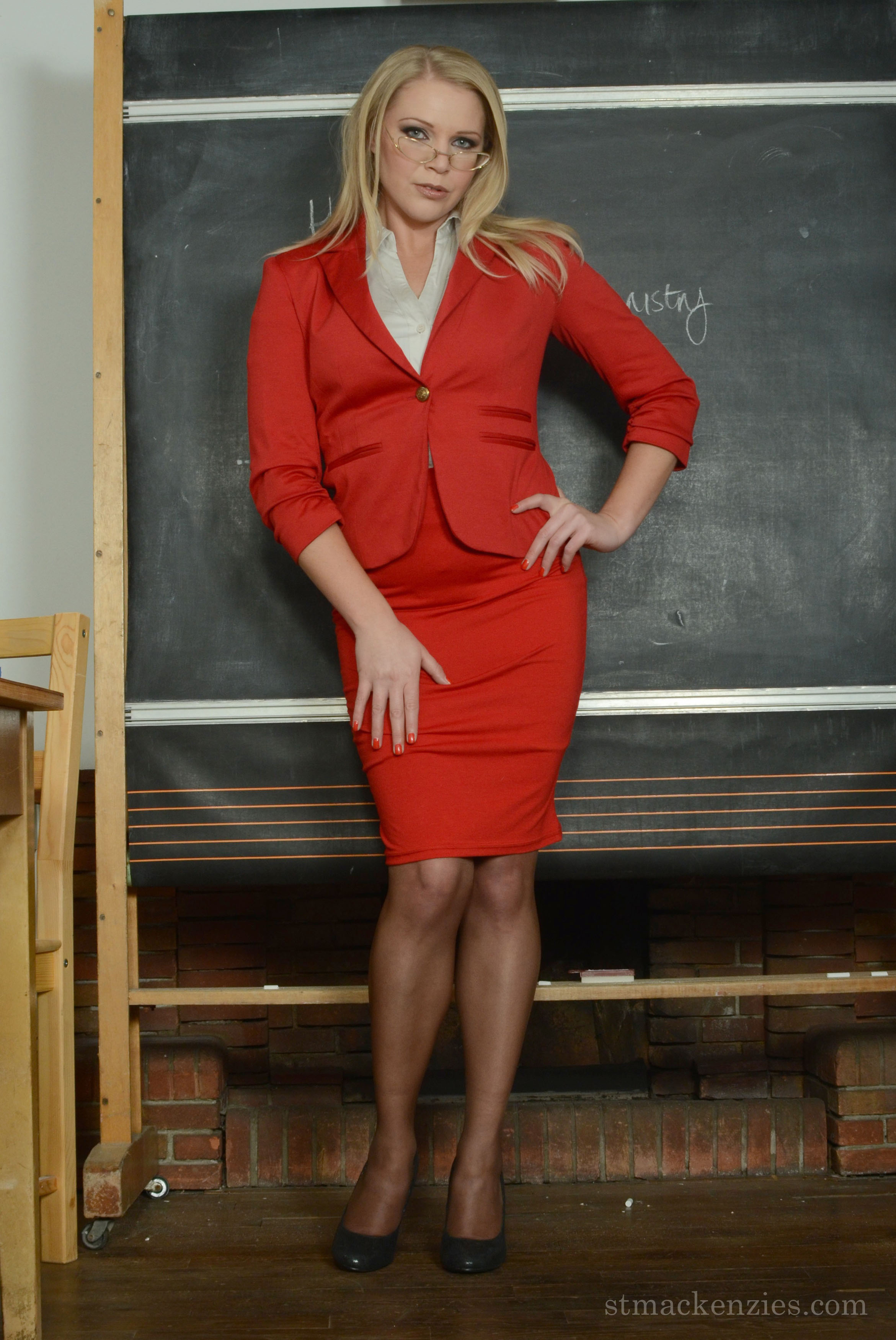Miss Toyne, a teacher at St Mackenzies