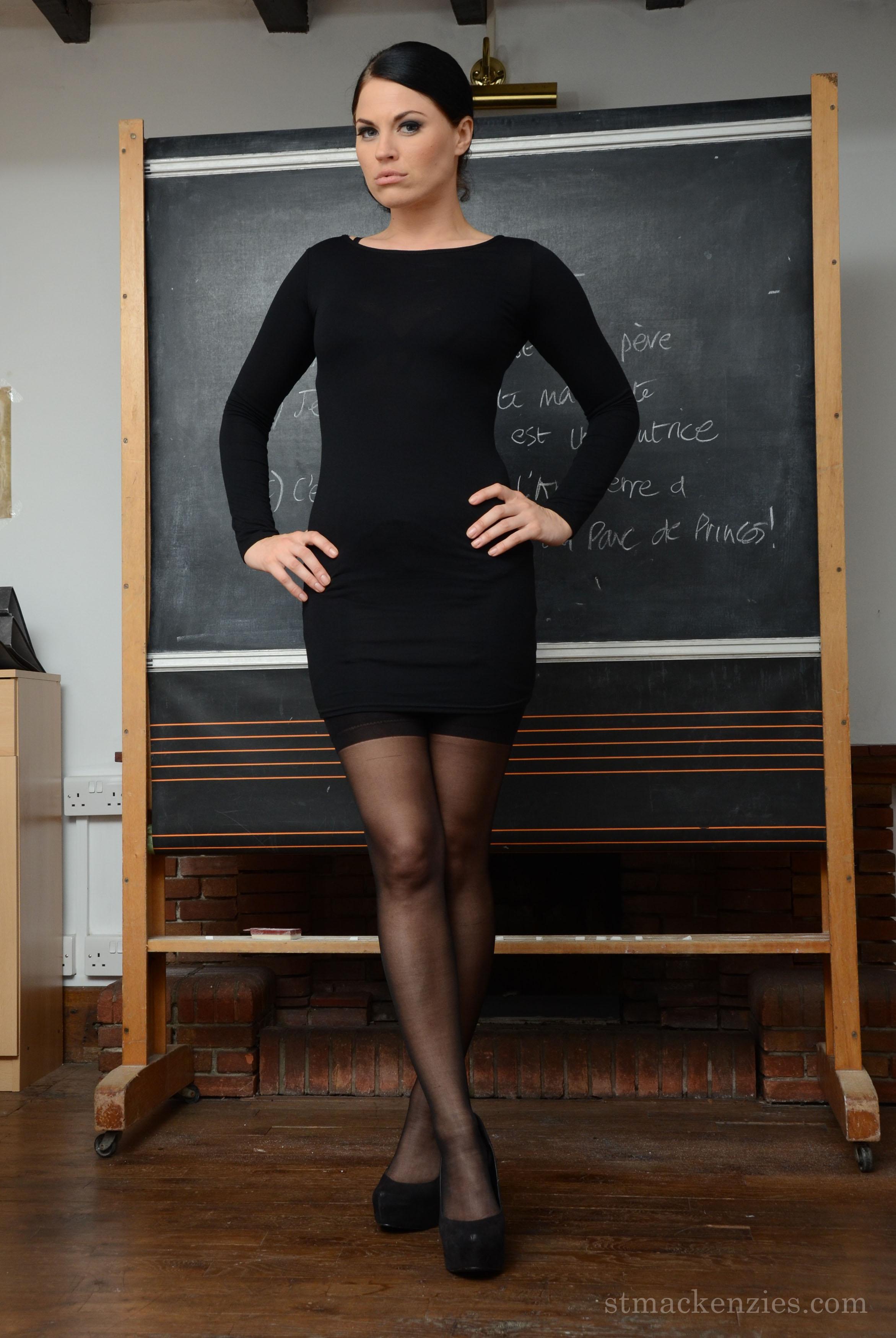 Miss Lilly, a teacher at St Mackenzies